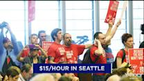 Seattle approves $15/hour minimum wage; Will other cities follow?