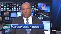 Q2 GDP gets a boost