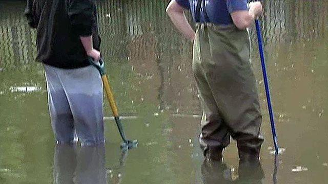 What's lurking in the floodwaters?