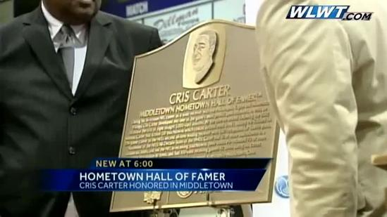 NFL Hall of Famer honored in Middletown