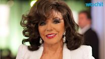 Joan Collins Heats Up The Royals Set