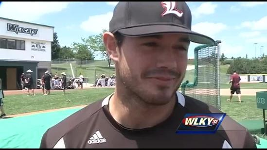 Raw video: UofL baseball players discuss College World Series game against Texas