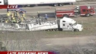 Crash Closes I-65 Near Seymour