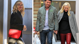 Gwen Stefani Gets Festive in Red - Twice!