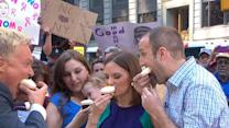 Parents Learn Gender of Baby By Eating Cupcakes on 'GMA'