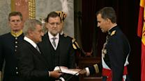 King Felipe VI takes the throne in Spain