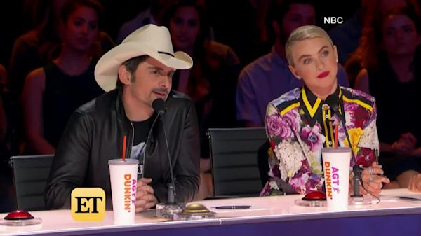 America's Got Talent': Brad Paisley Slams Golden Buzzer for