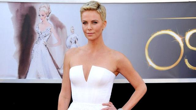 Bringing beauty to a cause, Charlize Theron lobbies for an AIDS-free generation