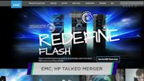 EMC and HP reportedly talked merger