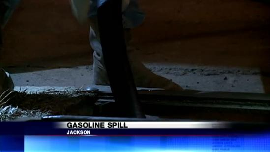 Gas spill clean-up
