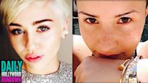 Miley Cyrus' Video Message To Dying Fan - Demi Lovato's Hot Summer Body In New Pic (DHR)