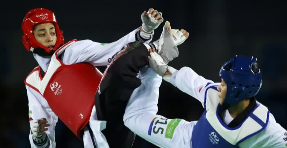 Image result for Kimia Alizadeh: Iran's only female Olympic medallist defects