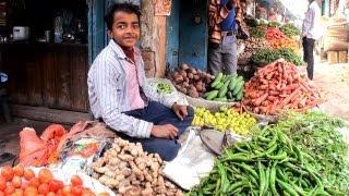 Vegetable Market at Champaran, Bihar