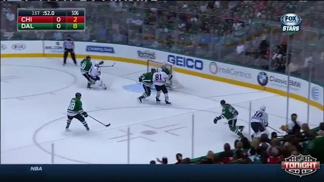 Chicago Blackhawks at Dallas Stars - 10/09/2014