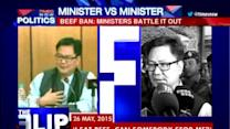 Beef ban: Ministers battle it out