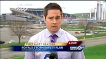 Royals have severe weather safety plans