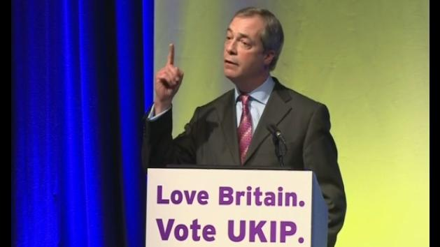 Farage: 'we can cause an earthquake'