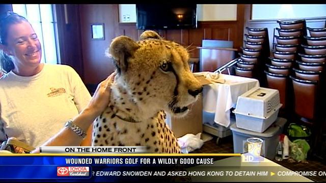 Wounded Warriors golf for a wildly good cause