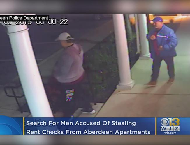 Rent Checks Stolen From Aberdeen Apartments