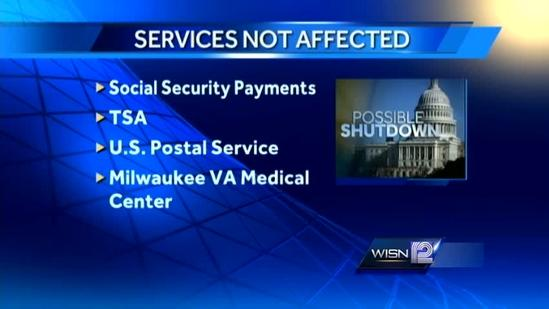 Local government workers impacted by possible shutdown