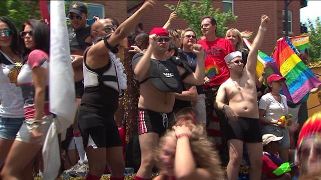 44th annual Gay Pride Parade marches down Chicago streets