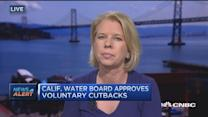 California water board approves voluntary cutbacks