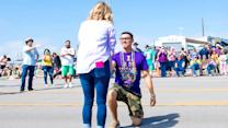 Mardi Gras flash mob leads to marriage proposal
