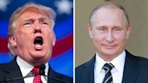 Is Donald Trump OK with Russian intervention in Syria?