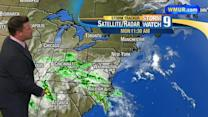 Showers move in later this week