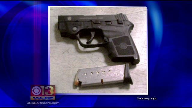 TSA Holds Safety Demonstration After Man Brings Loaded Gun To BWI
