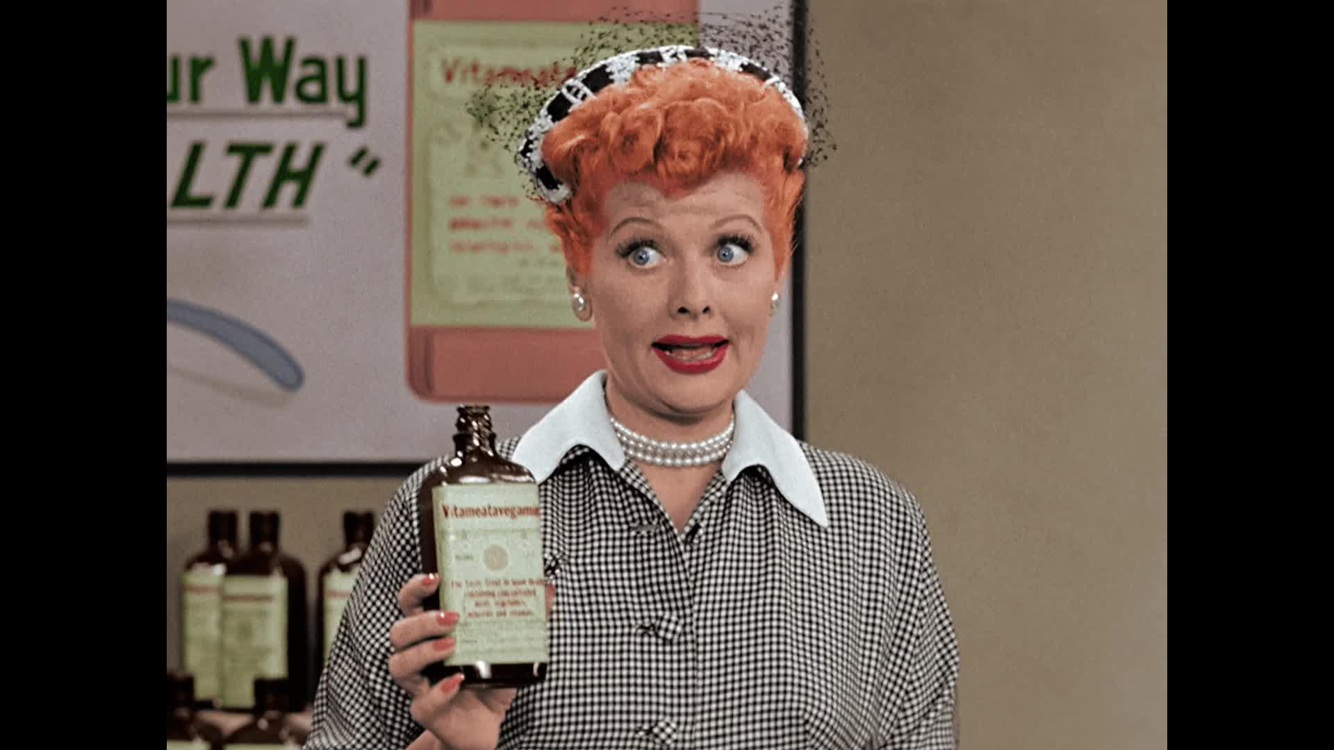 'I Love Lucy': CBS Colorizes Classic Vitameatavegamin Ep: Watch a Preview [Video]