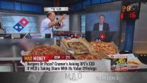 Cramer: This pizza giant headed higher but hitting speedb...