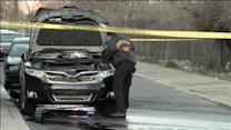 Body found in burning vehicle in SW Philadelphia