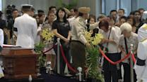 Singapore in mourning: fifth day