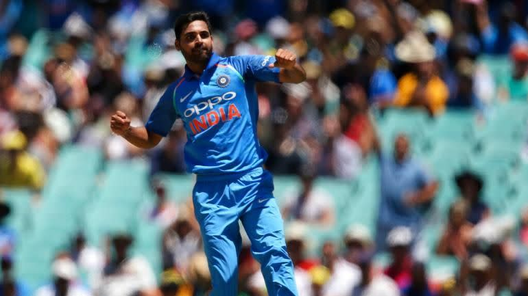 Bhuvi featured in all the ODI and T20 games on the tour of Australia and New Zealand