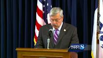 RAW VIDEO: Branstad public safety news conference
