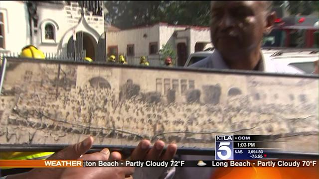 Church Burned in Downtown Fire Has Rich History in L.A.