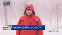 NYC spared, Boston battered by snow