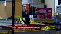 Man dies in McDonald's stabbing