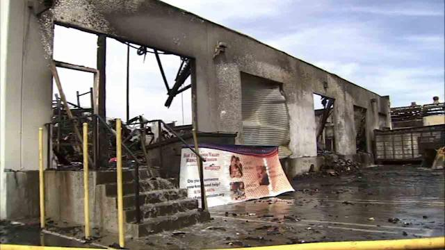 San Fernando Valley Rescue Mission fires leaves dozens displaced