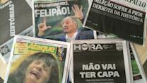 Brazil's papers react with shame and anger to historic loss