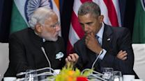Obama Meets With India Prime Minister Modi