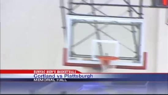 The Plattsburgh men's and women's basketball squads sweep Cortland