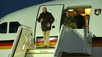 Released OSCE observers arrive in Germany, express relief