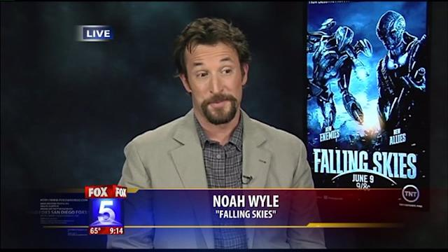 Falling Skies Star on Comic Con and Sci-Fi Fans