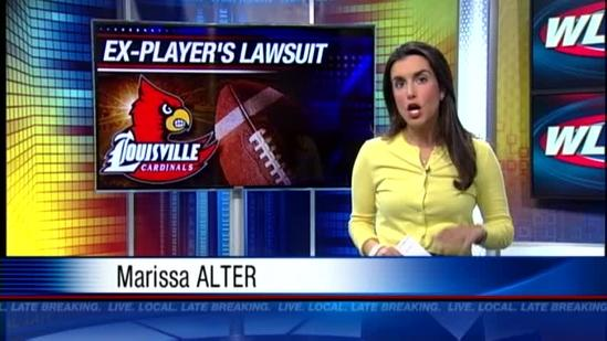 Former UofL football player files lawsuit against university