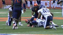 Syracuse QB Terrel Hunt Throws Punch Against Villanova