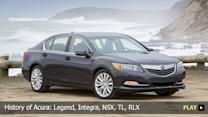 History of Acura: Legend, Integra, NSX, TL, RLX