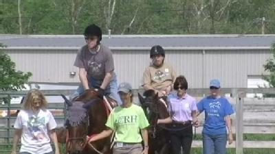 Riding Center Helps Change Lives