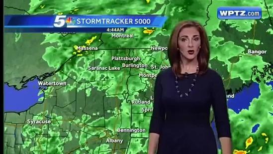 Hayley's WeatherPlus forecast